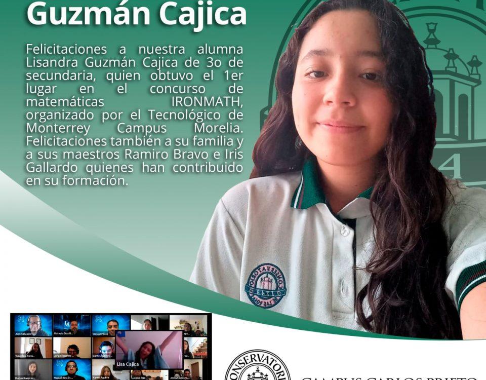¡Felicidades! Lisandra Guzmán Cajica
